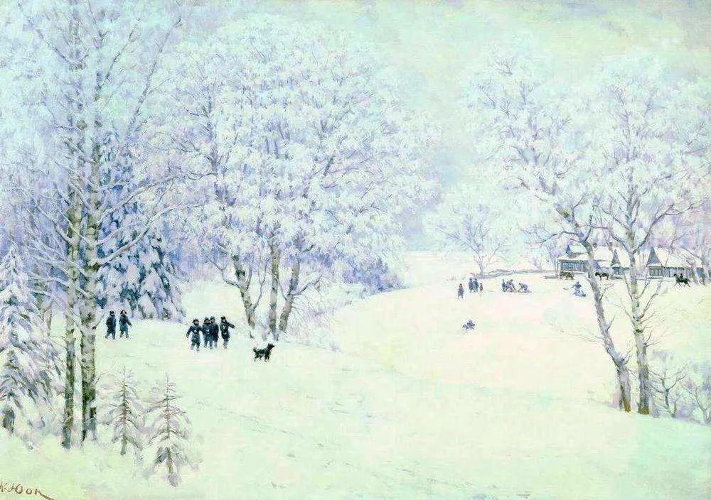 列宁勋章获得者尤恩,笔下独具特色的风景!插图44
