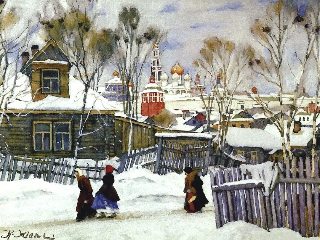 列宁勋章获得者尤恩,笔下独具特色的风景!插图62