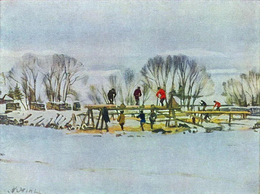 列宁勋章获得者尤恩,笔下独具特色的风景!插图70