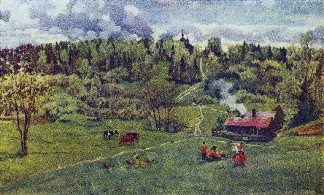 列宁勋章获得者尤恩,笔下独具特色的风景!插图72