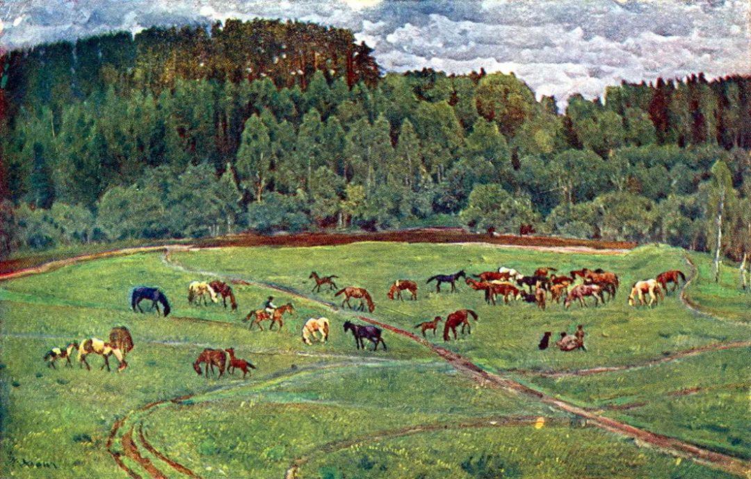 列宁勋章获得者尤恩,笔下独具特色的风景!插图78