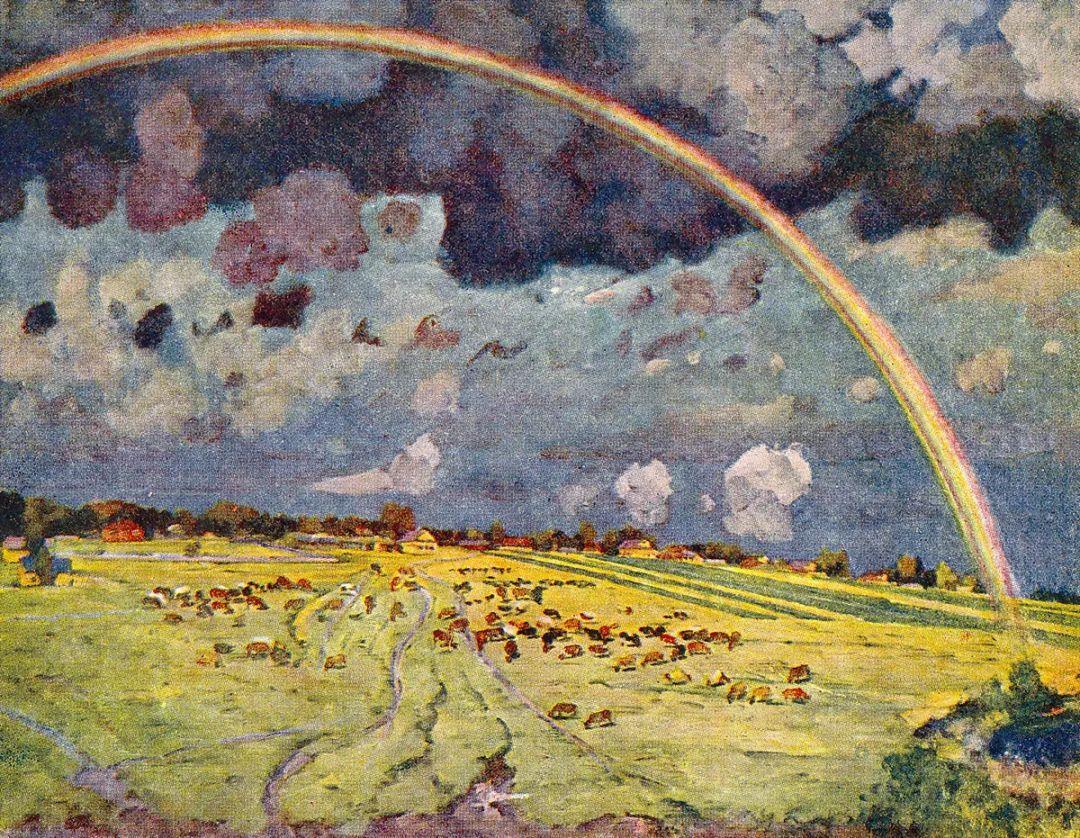 列宁勋章获得者尤恩,笔下独具特色的风景!插图86