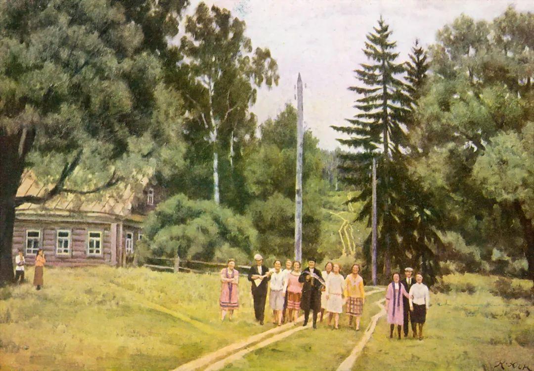 列宁勋章获得者尤恩,笔下独具特色的风景!插图90