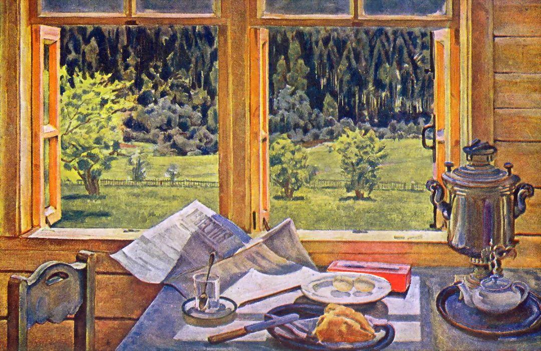 列宁勋章获得者尤恩,笔下独具特色的风景!插图104