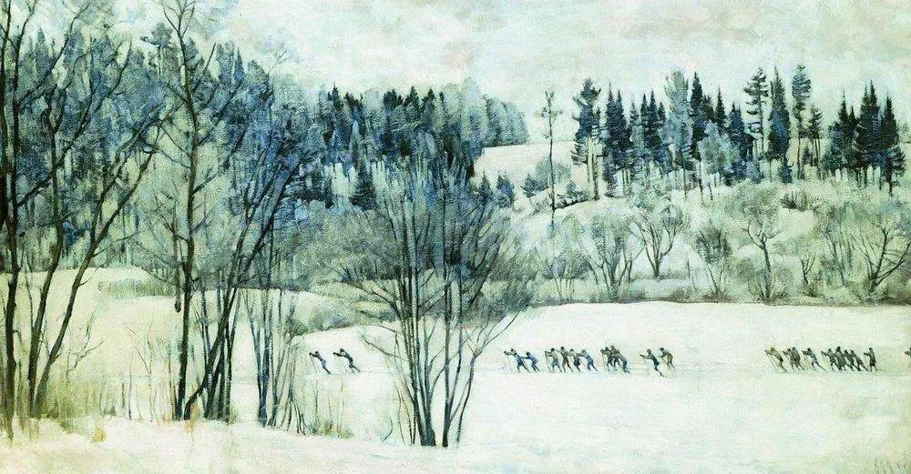 列宁勋章获得者尤恩,笔下独具特色的风景!插图112