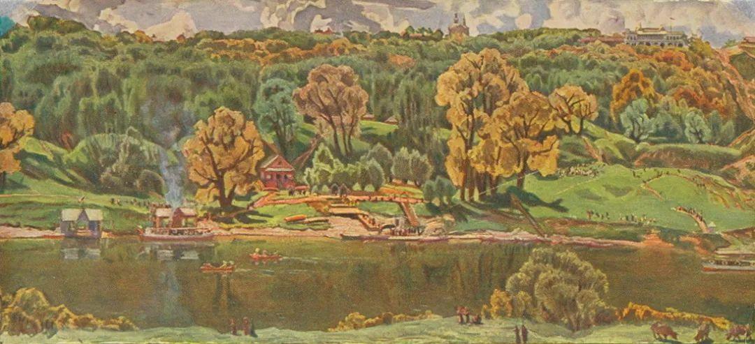 列宁勋章获得者尤恩,笔下独具特色的风景!插图122