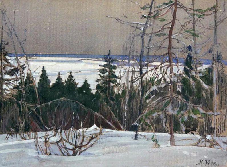列宁勋章获得者尤恩,笔下独具特色的风景!插图124