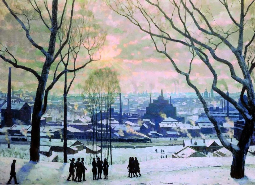 列宁勋章获得者尤恩,笔下独具特色的风景!插图126