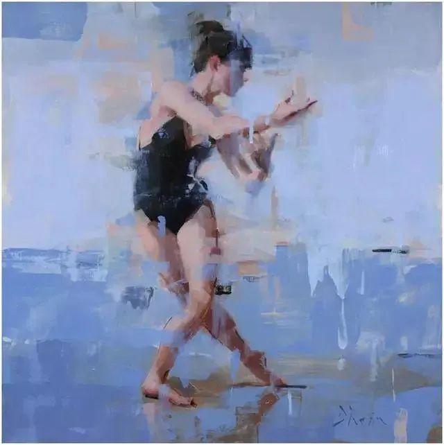 翩若惊鸿,婉若游龙,油画里那些翩翩起舞的美少女插图9
