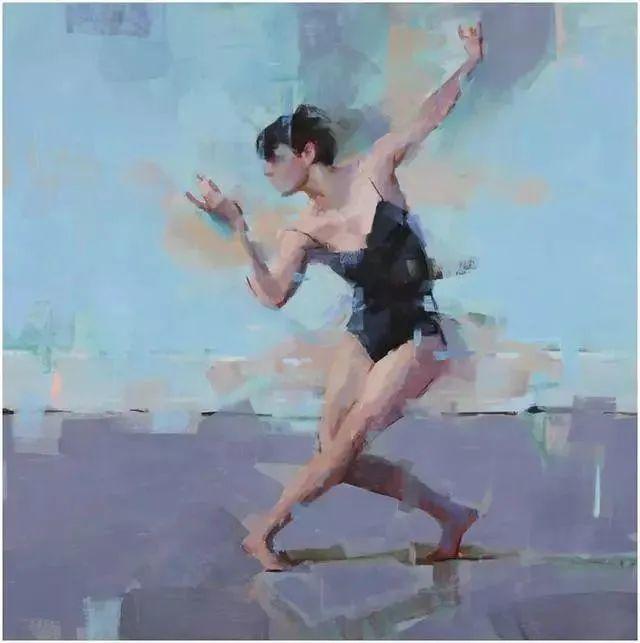 翩若惊鸿,婉若游龙,油画里那些翩翩起舞的美少女插图13
