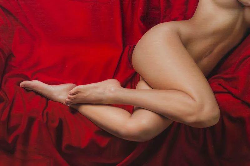 他画的绝色写实女人裸体画,看完面红耳赤!引网友直呼:我可以!插图29