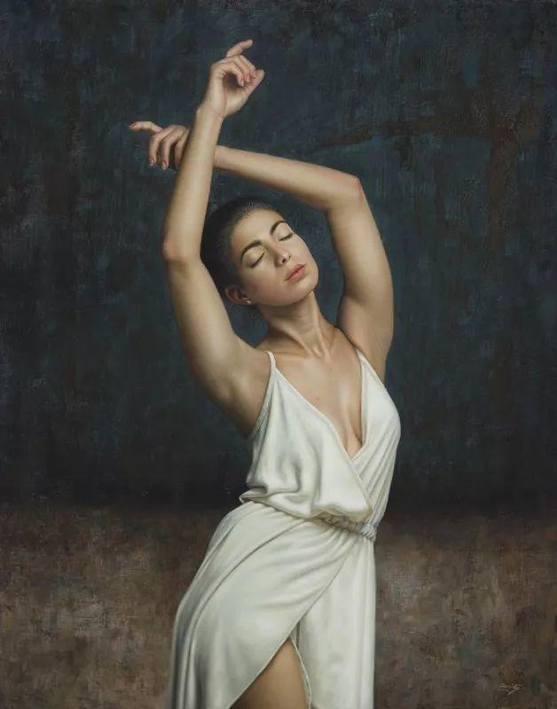 他画的绝色写实女人裸体画,看完面红耳赤!引网友直呼:我可以!插图39