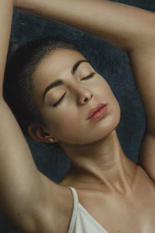 他画的绝色写实女人裸体画,看完面红耳赤!引网友直呼:我可以!插图41