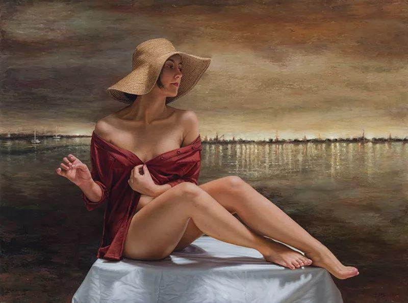 他画的绝色写实女人裸体画,看完面红耳赤!引网友直呼:我可以!插图49