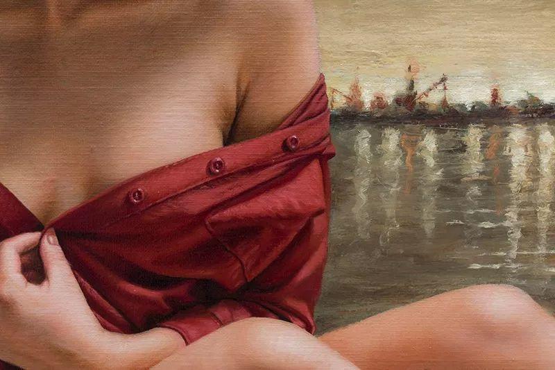他画的绝色写实女人裸体画,看完面红耳赤!引网友直呼:我可以!插图53