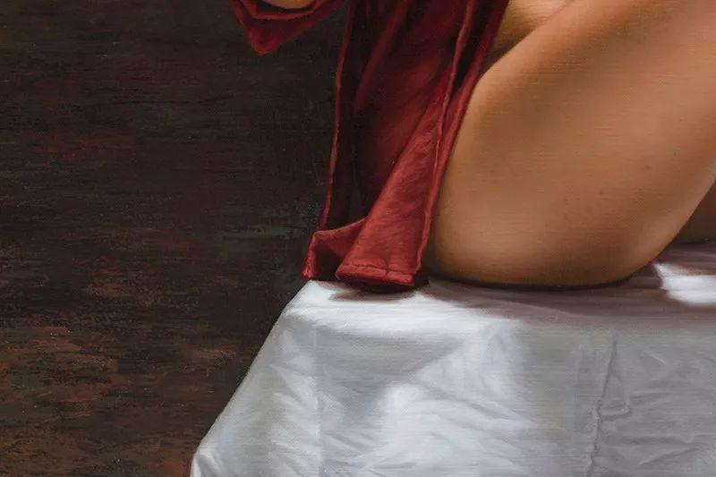 他画的绝色写实女人裸体画,看完面红耳赤!引网友直呼:我可以!插图55