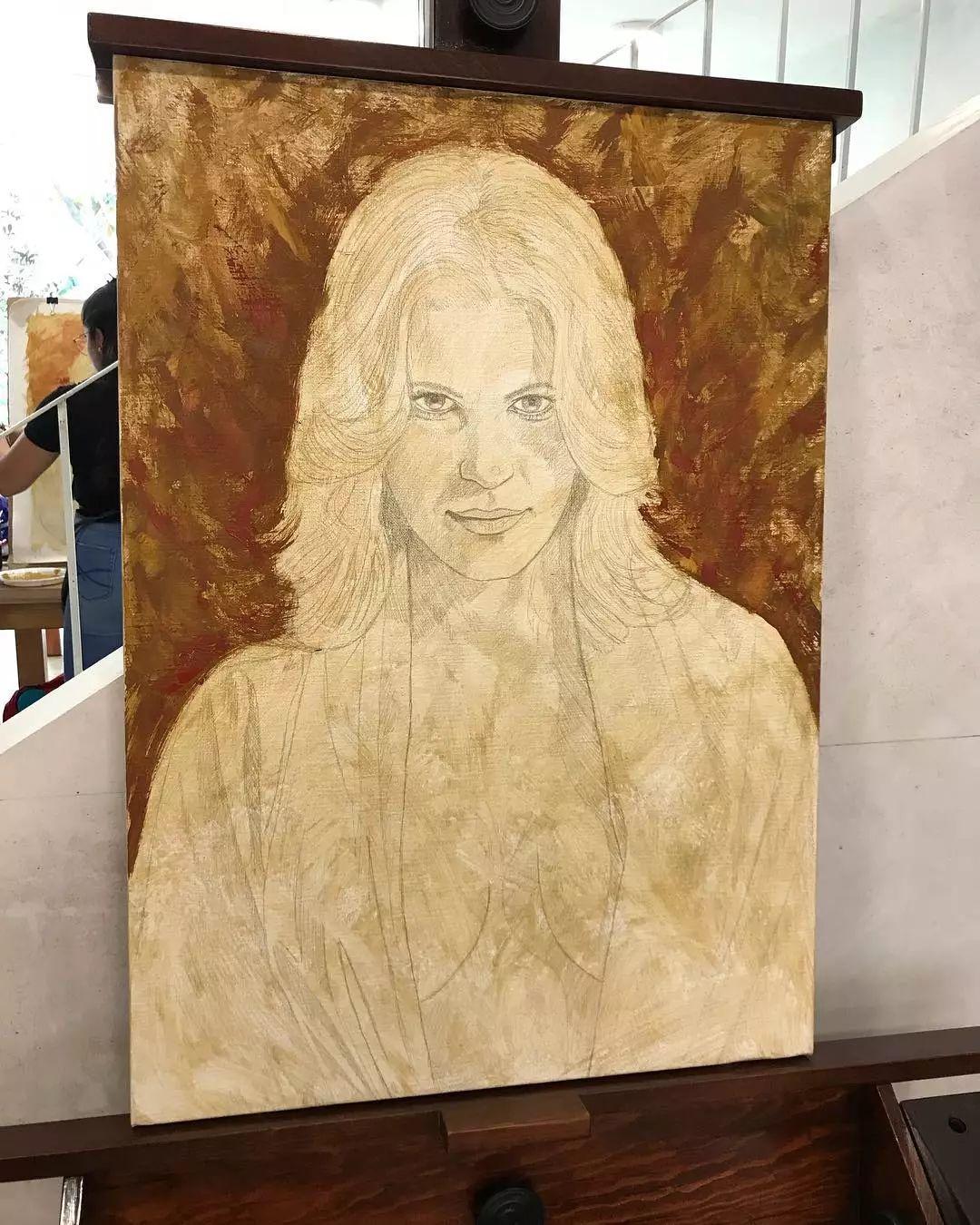 他画的绝色写实女人裸体画,看完面红耳赤!引网友直呼:我可以!插图57
