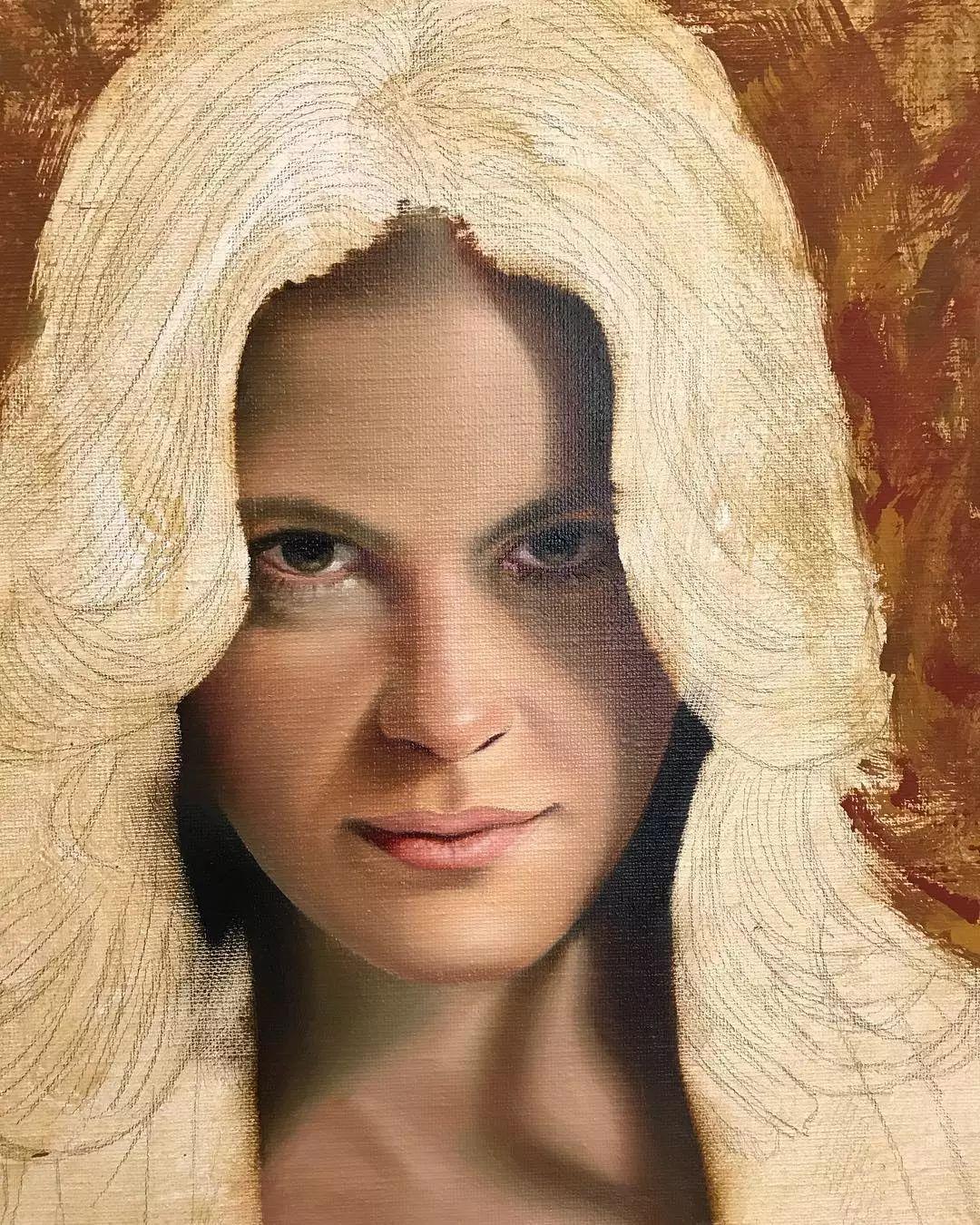 他画的绝色写实女人裸体画,看完面红耳赤!引网友直呼:我可以!插图61