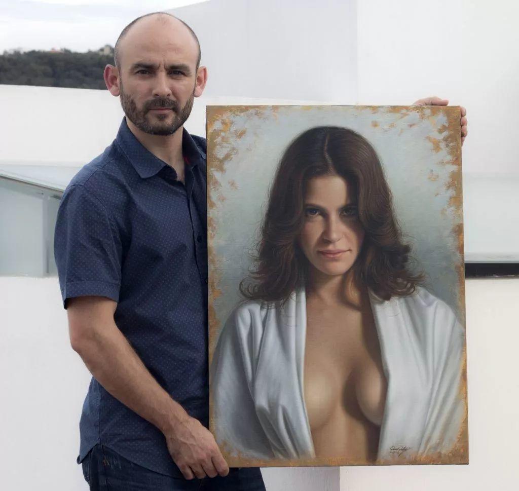 他画的绝色写实女人裸体画,看完面红耳赤!引网友直呼:我可以!插图65