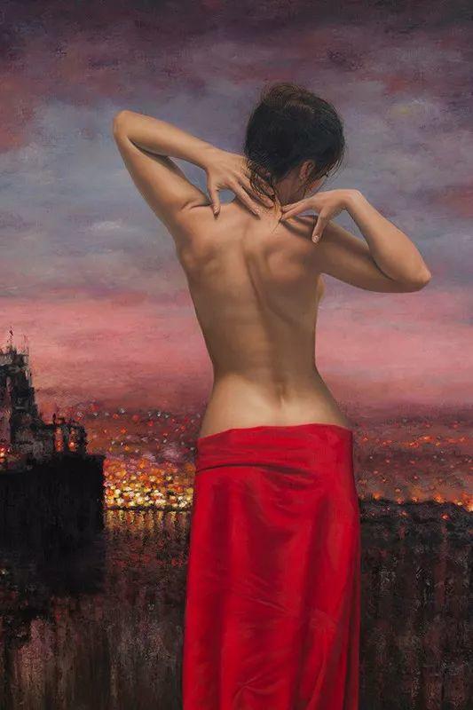 他画的绝色写实女人裸体画,看完面红耳赤!引网友直呼:我可以!插图75