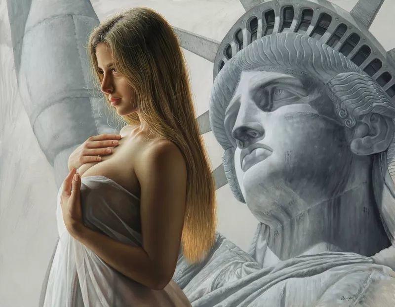 他画的绝色写实女人裸体画,看完面红耳赤!引网友直呼:我可以!插图85