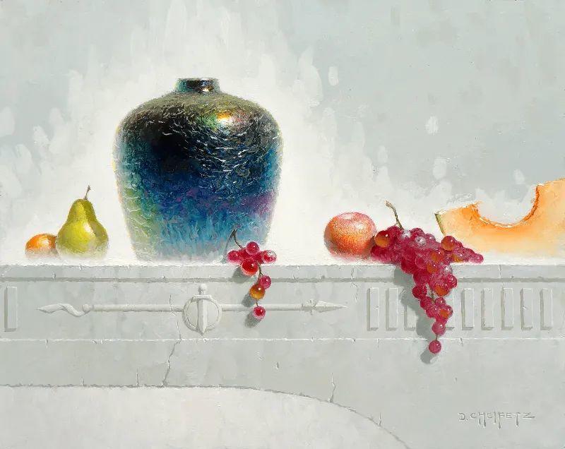 很不同的静物画,纹理色彩独特、用光讲究!插图15