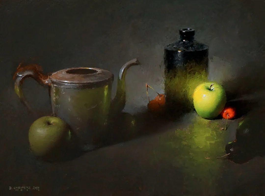 很不同的静物画,纹理色彩独特、用光讲究!插图107
