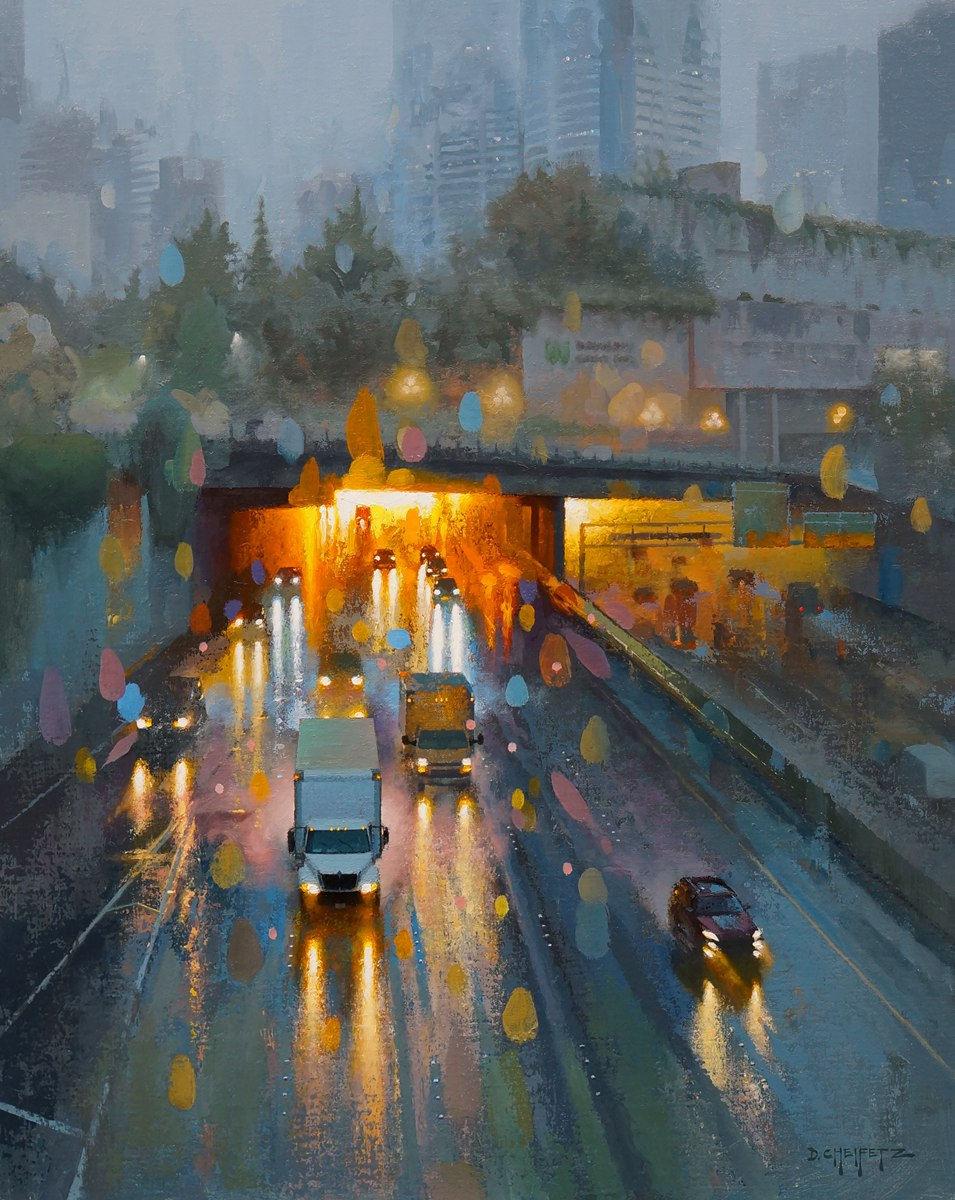 富有表现力的笔触和光感,大卫·切菲兹作品二插图5
