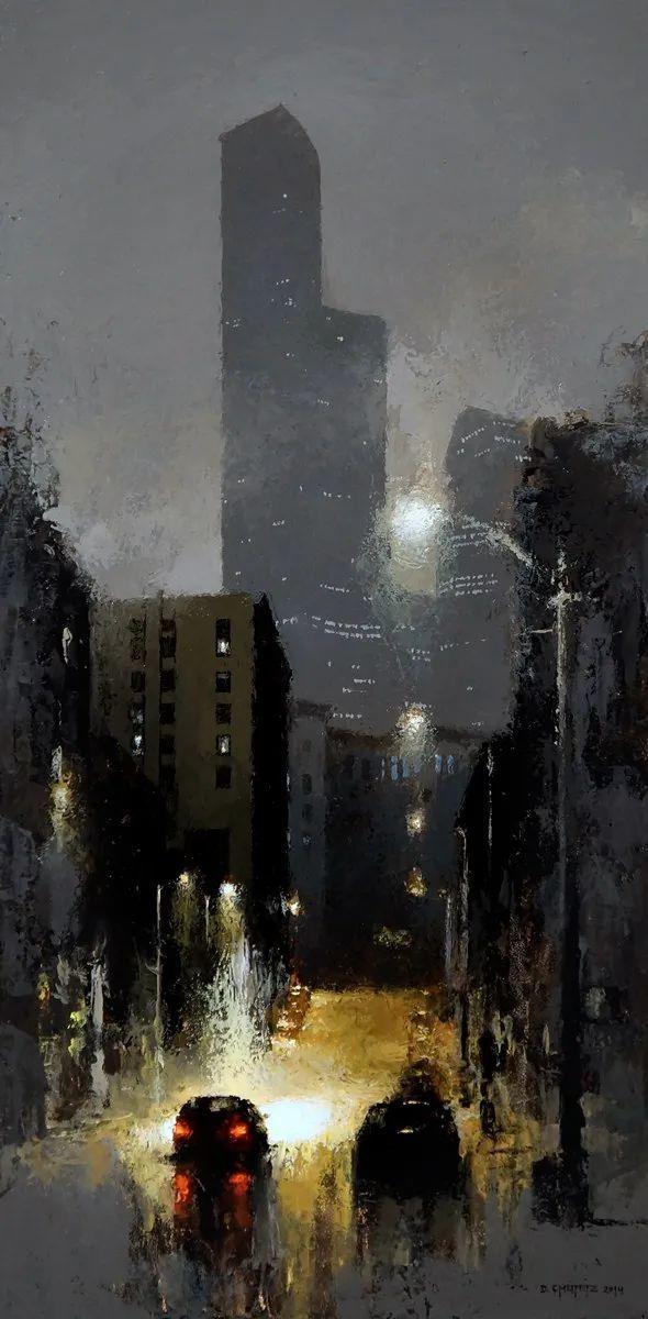 富有表现力的笔触和光感,大卫·切菲兹作品二插图25