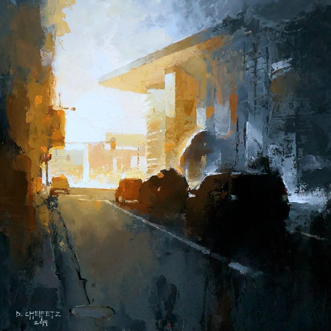 富有表现力的笔触和光感,大卫·切菲兹作品二插图27