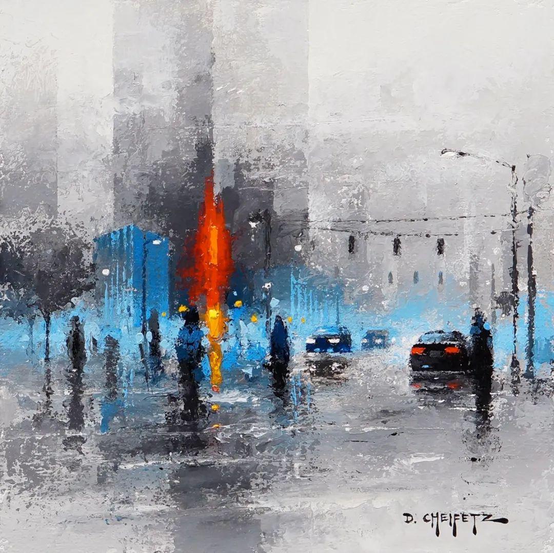 富有表现力的笔触和光感,大卫·切菲兹作品二插图31