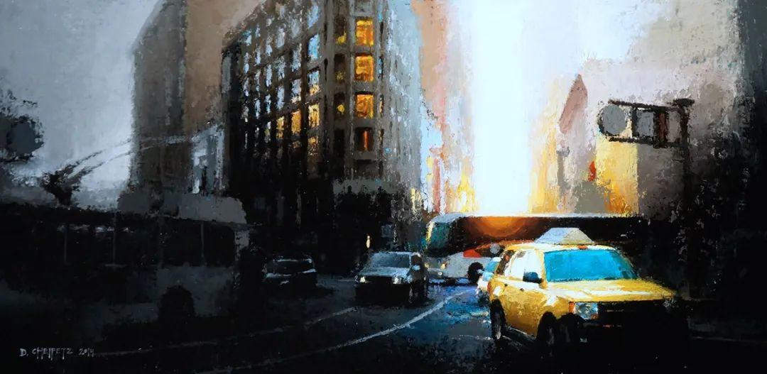 富有表现力的笔触和光感,大卫·切菲兹作品二插图35