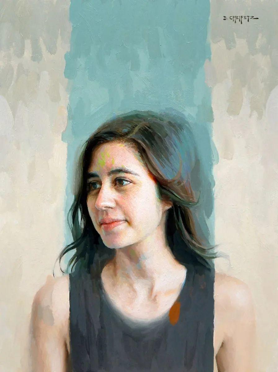 富有表现力的笔触和光感,大卫·切菲兹作品二插图43