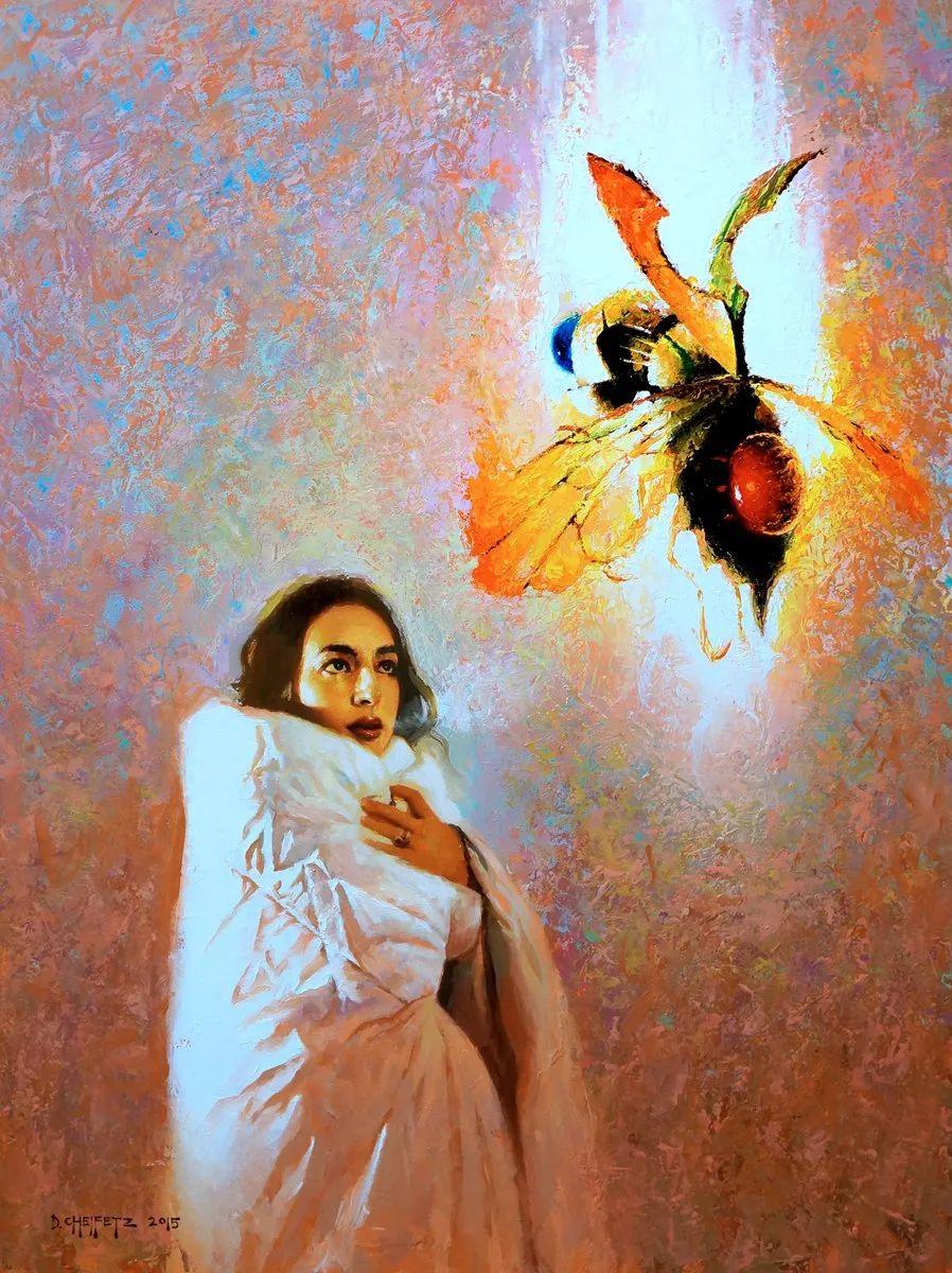 富有表现力的笔触和光感,大卫·切菲兹作品二插图47