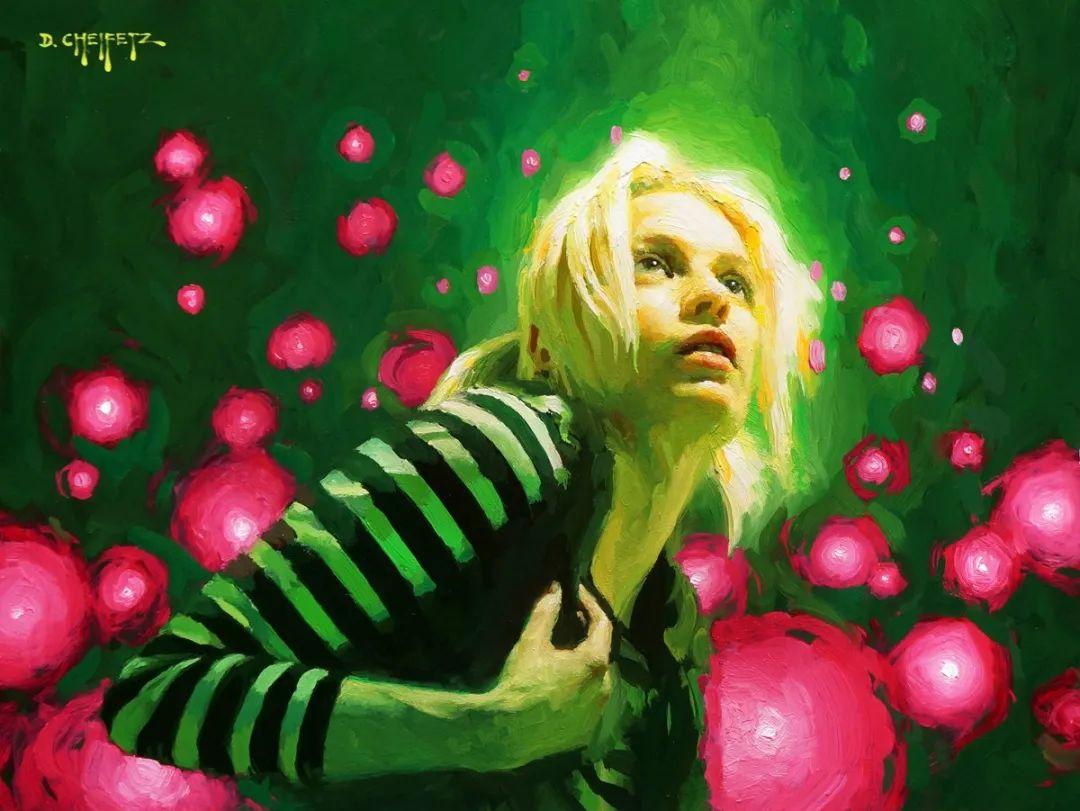 富有表现力的笔触和光感,大卫·切菲兹作品二插图57