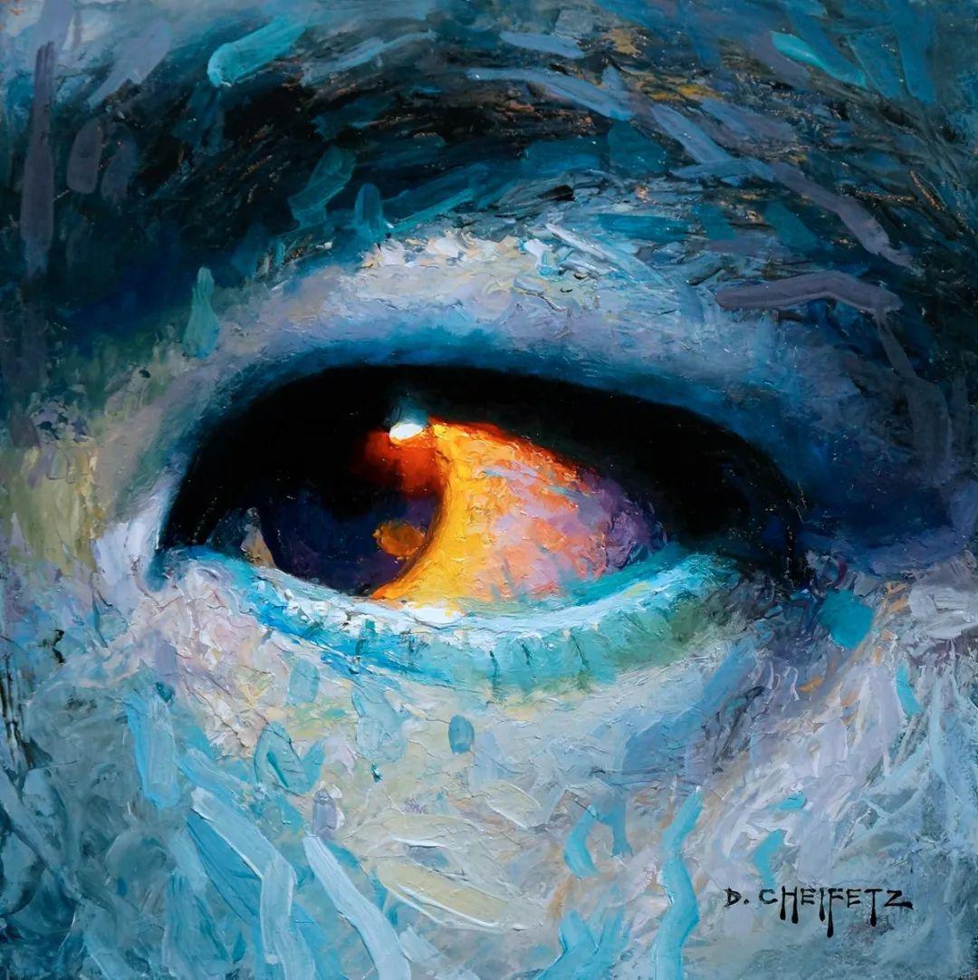 富有表现力的笔触和光感,大卫·切菲兹作品二插图59