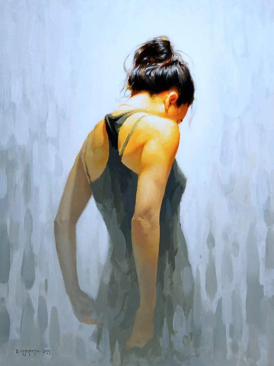 富有表现力的笔触和光感,大卫·切菲兹作品二插图61
