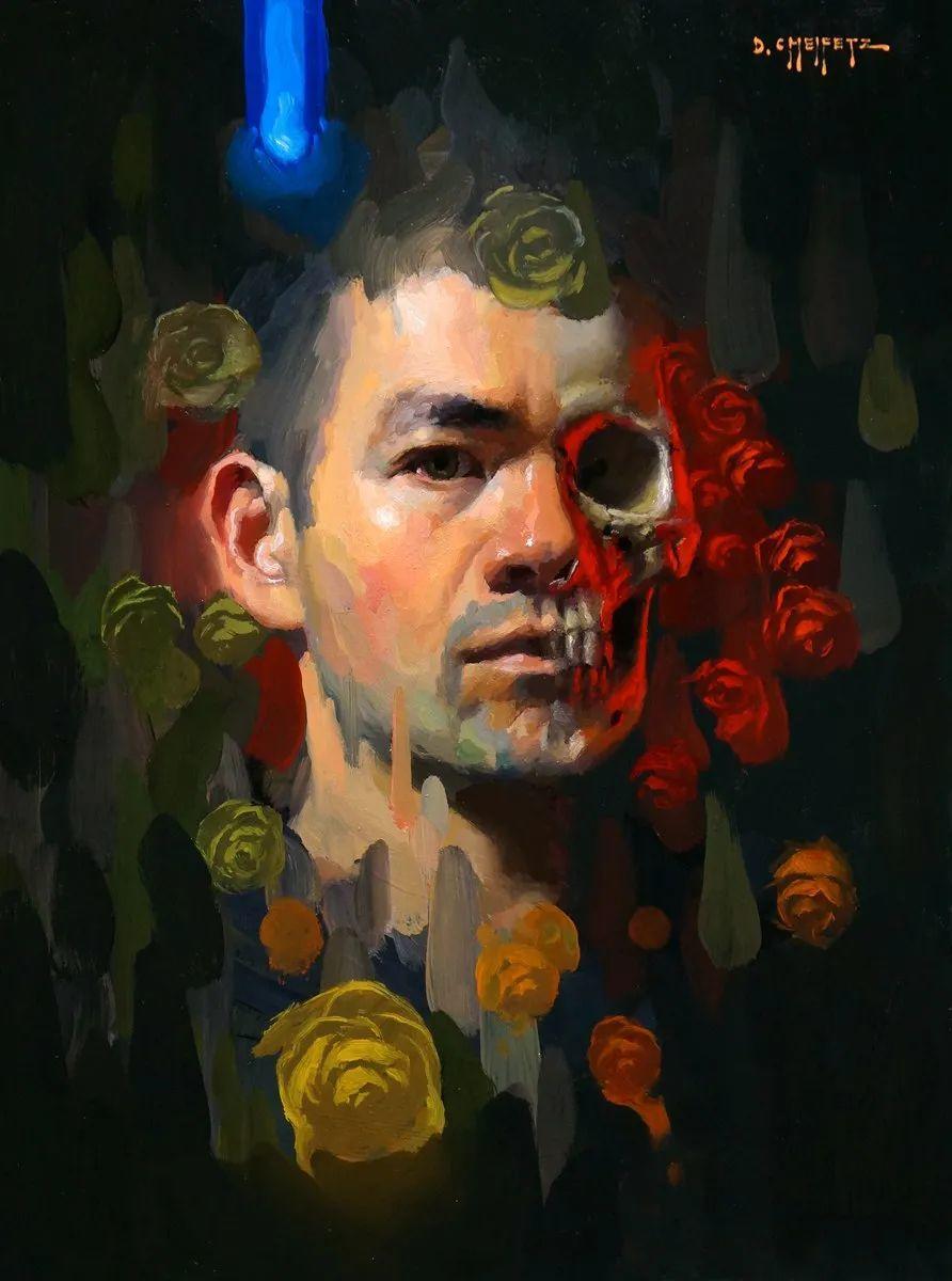 富有表现力的笔触和光感,大卫·切菲兹作品二插图69