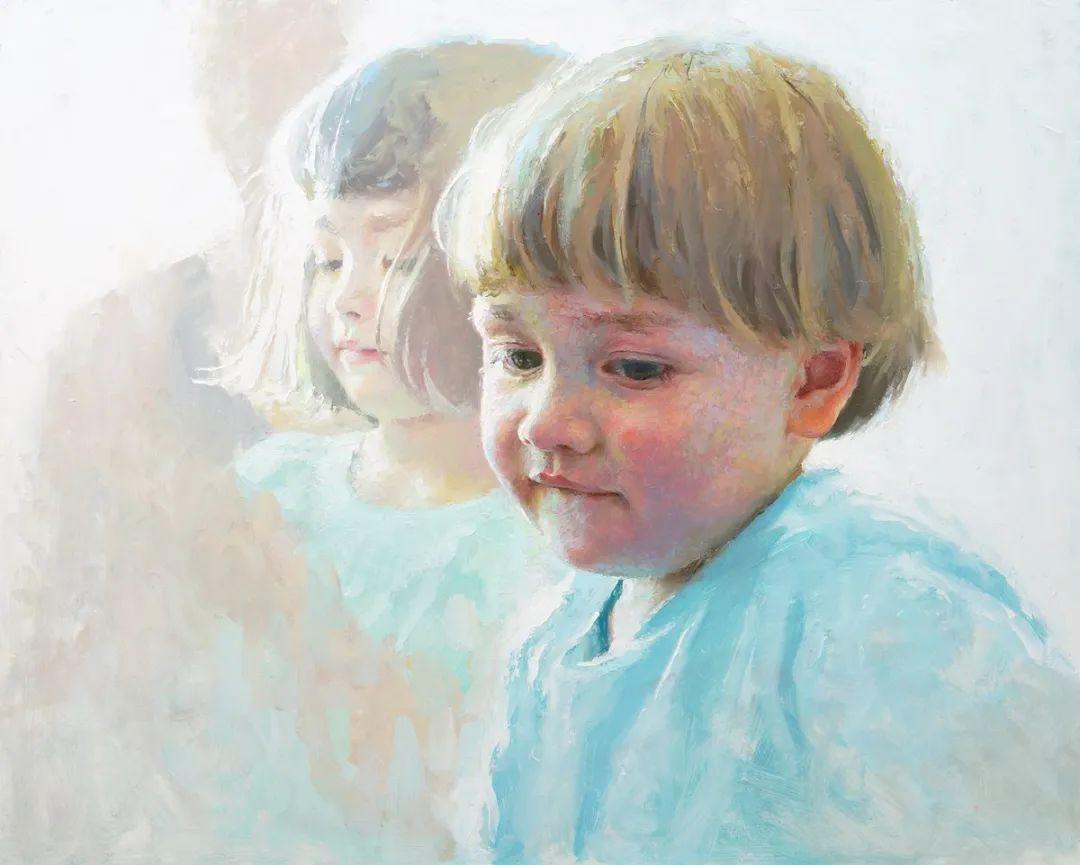 富有表现力的笔触和光感,大卫·切菲兹作品二插图71