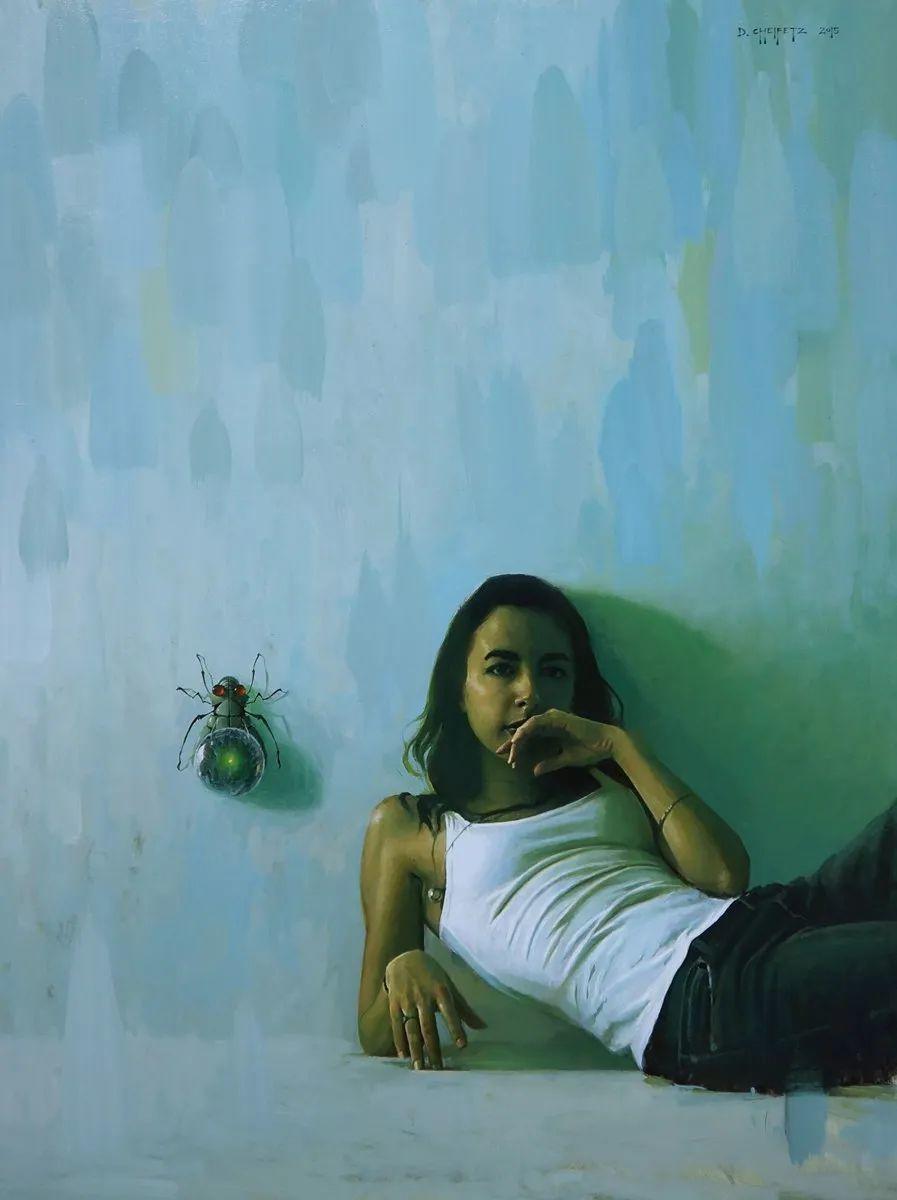 富有表现力的笔触和光感,大卫·切菲兹作品二插图75