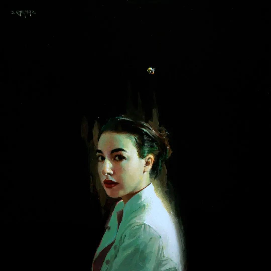 富有表现力的笔触和光感,大卫·切菲兹作品二插图77