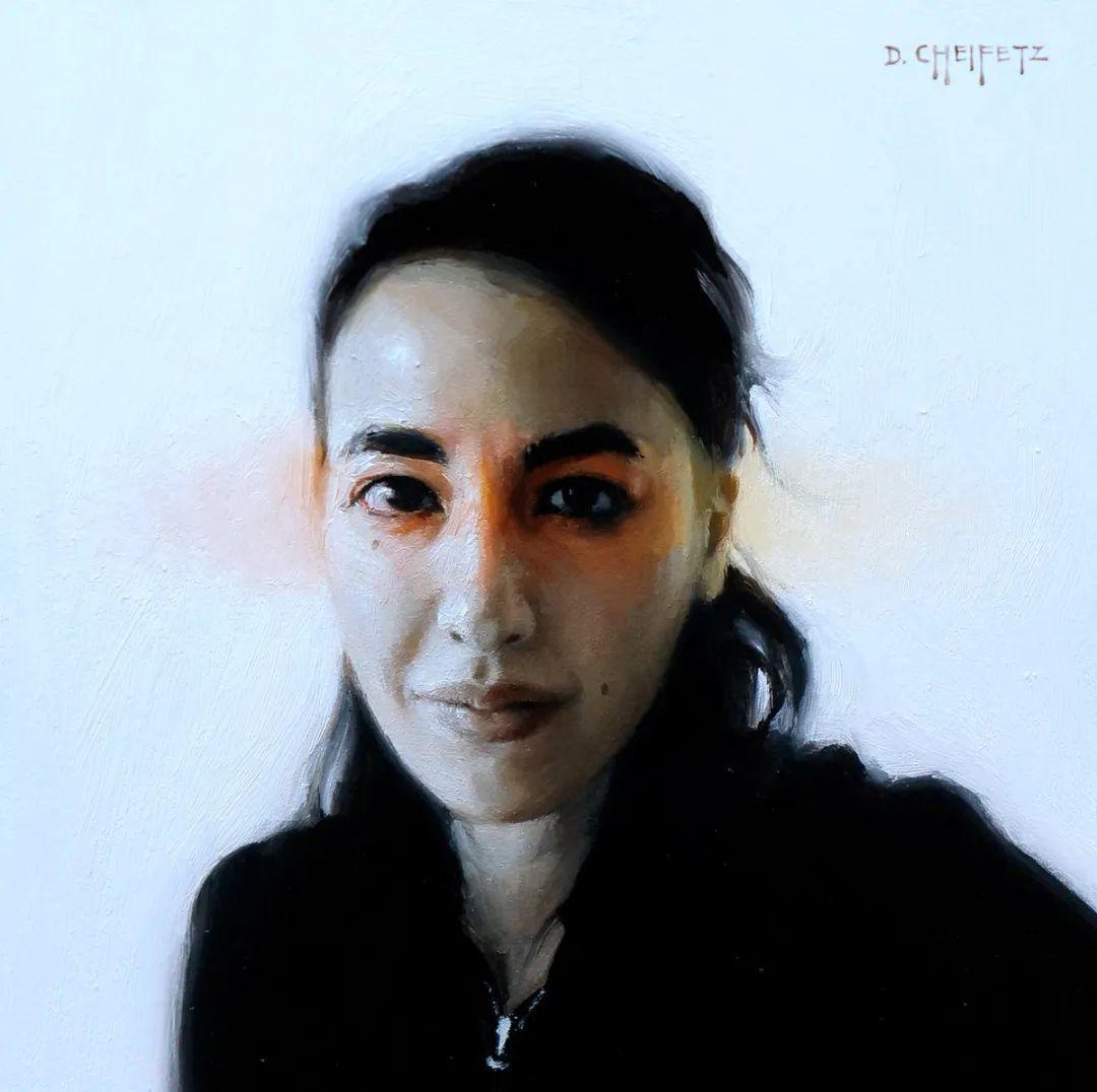 富有表现力的笔触和光感,大卫·切菲兹作品二插图81