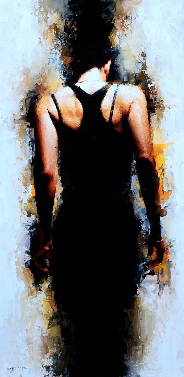 富有表现力的笔触和光感,大卫·切菲兹作品二插图83