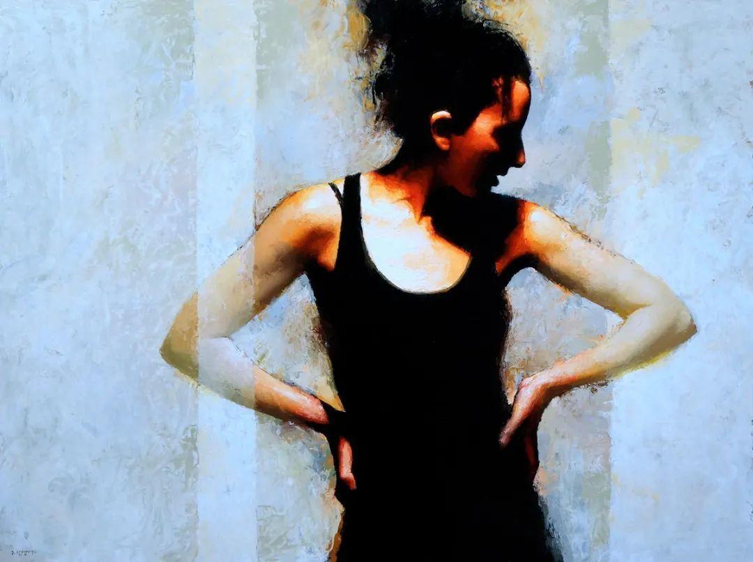 富有表现力的笔触和光感,大卫·切菲兹作品二插图85
