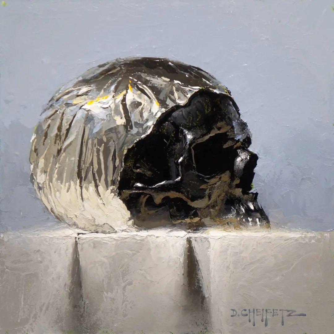 富有表现力的笔触和光感,大卫·切菲兹作品二插图107