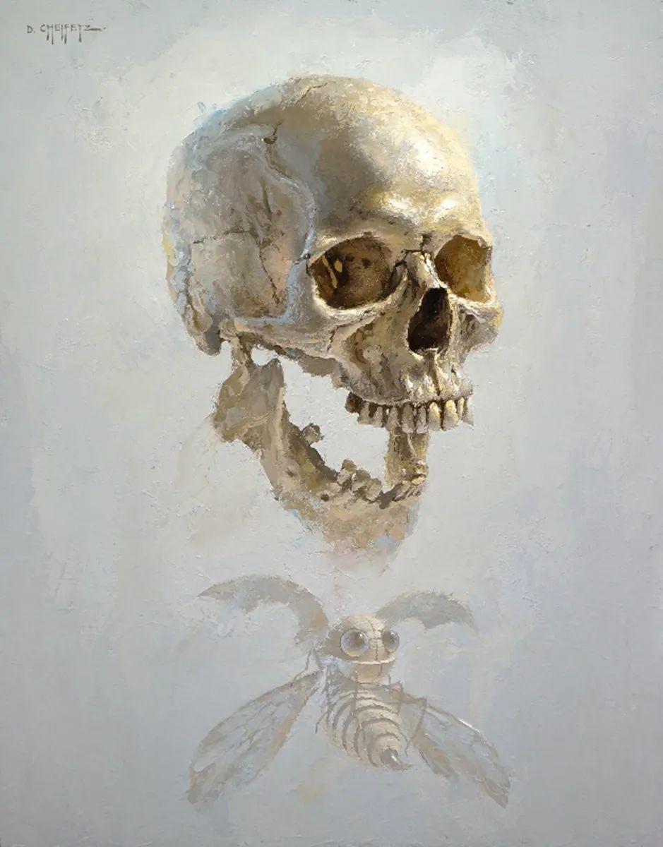 富有表现力的笔触和光感,大卫·切菲兹作品二插图109
