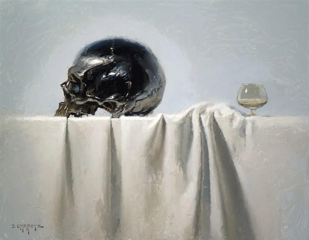 富有表现力的笔触和光感,大卫·切菲兹作品二插图111