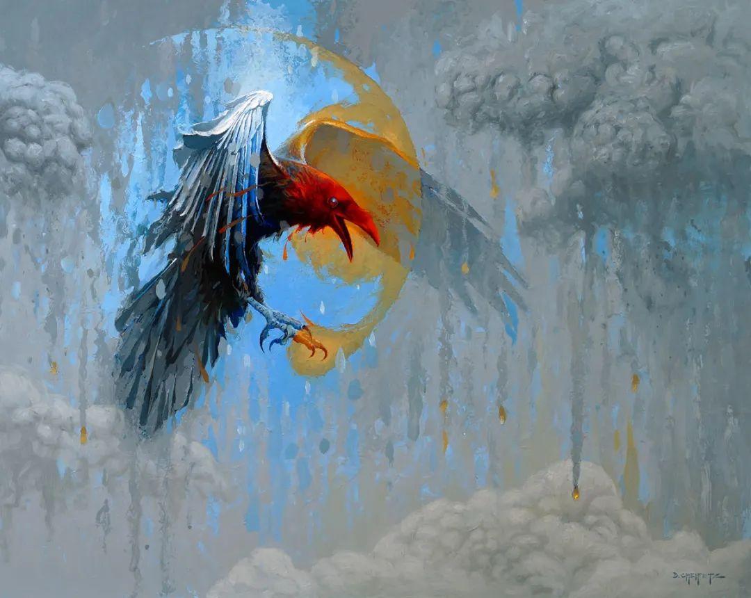 富有表现力的笔触和光感,大卫·切菲兹作品二插图113