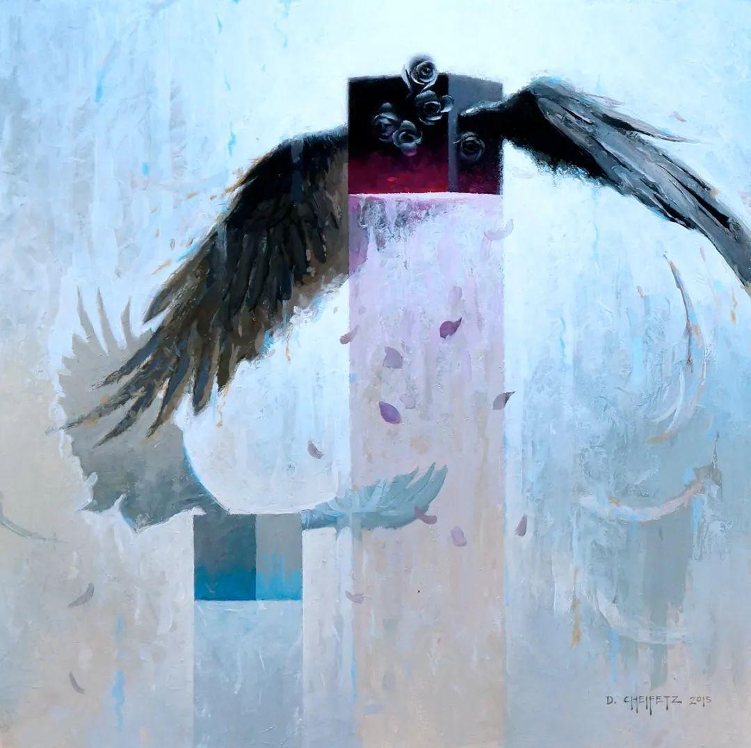 富有表现力的笔触和光感,大卫·切菲兹作品二插图115
