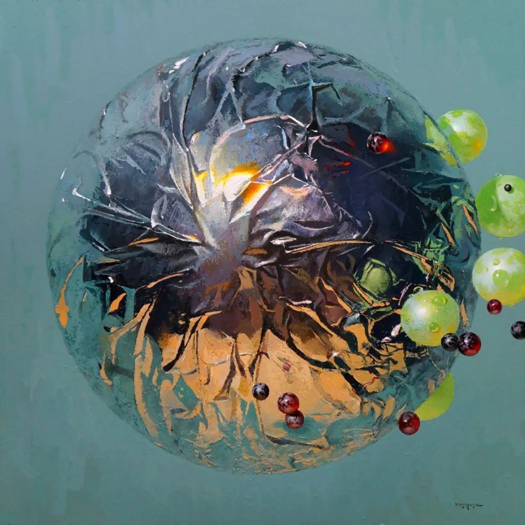 富有表现力的笔触和光感,大卫·切菲兹作品二插图117